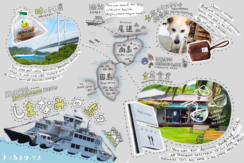 しまなみ海道の島々の魅力1_向島・因島