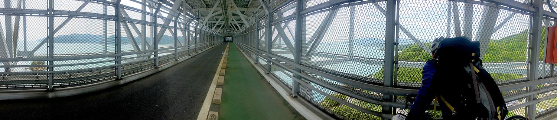 因島大橋の中