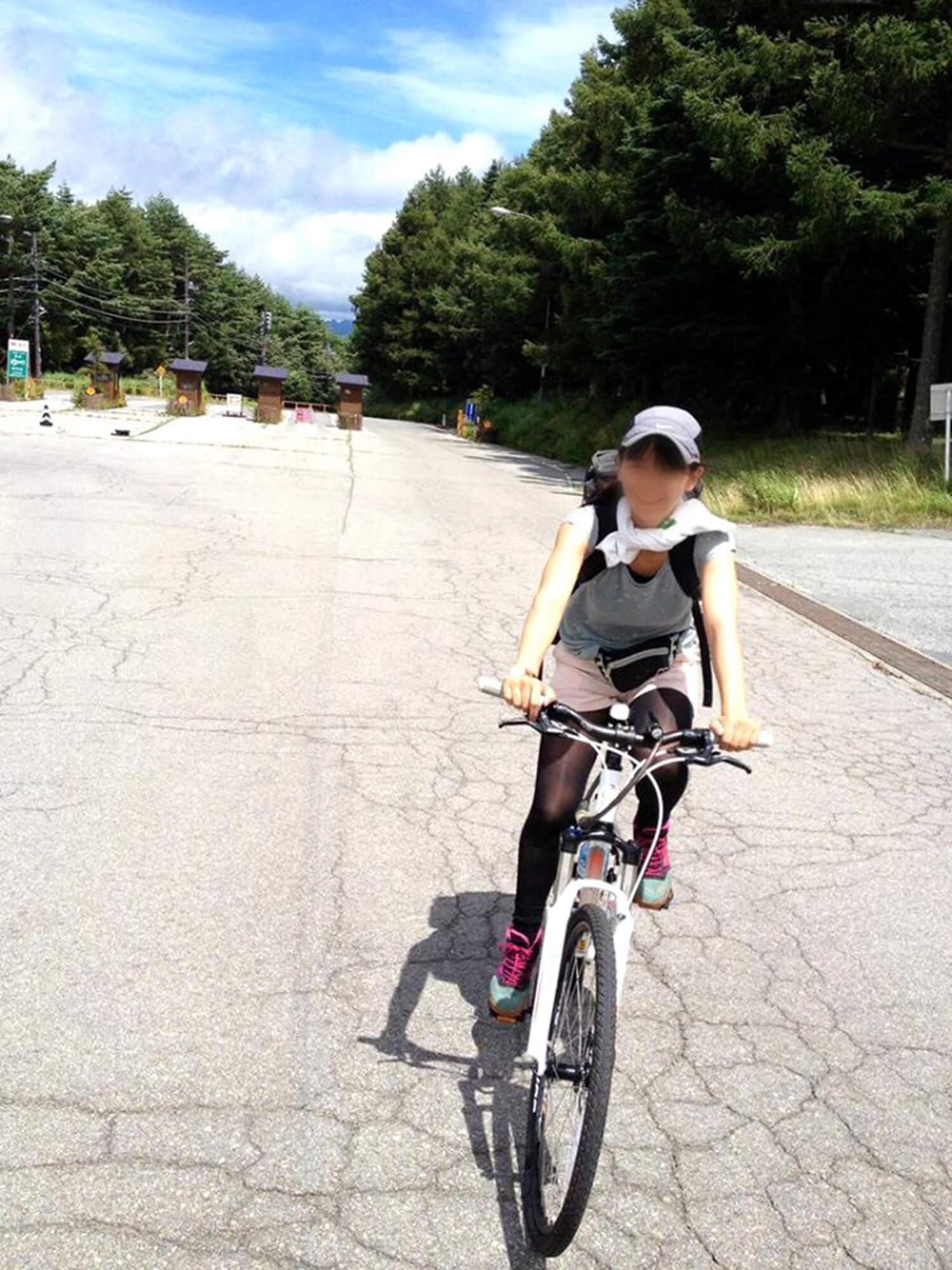 自転車楽しいの図