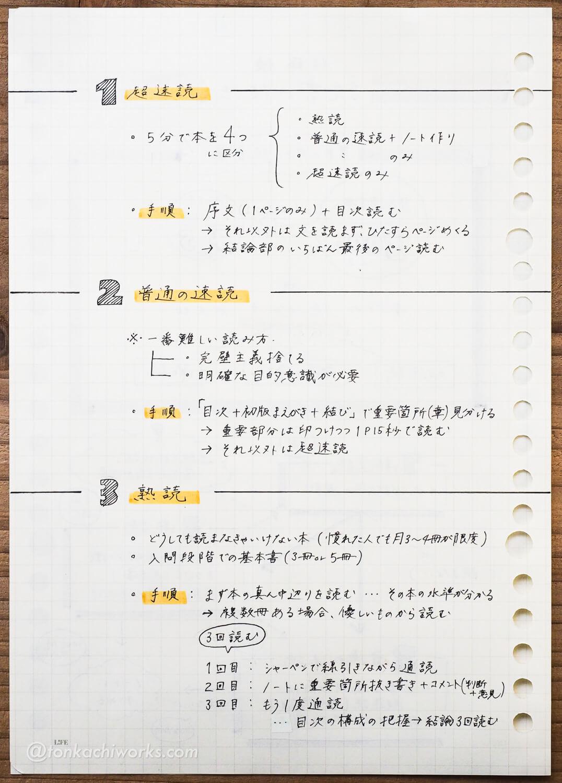読書の技法_読書ノート2